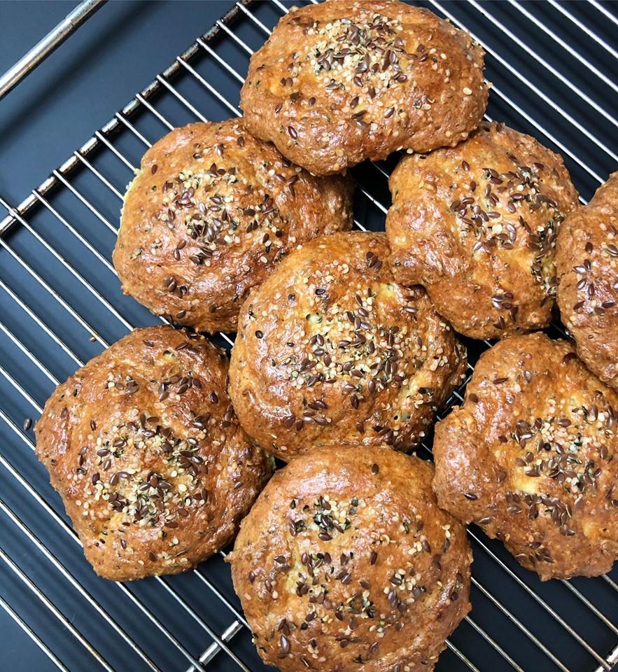 Glutenfrie boller og kage