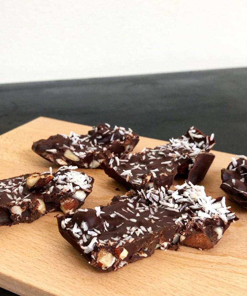 Sunde chokoladebarer