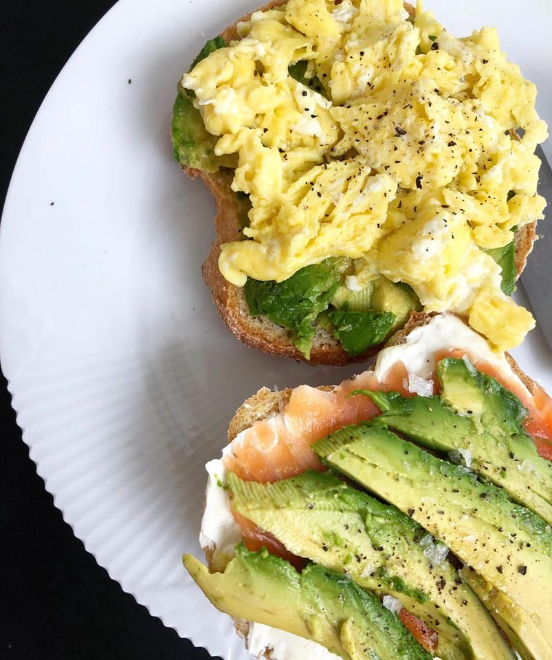 Avocado toast (glutenfri)